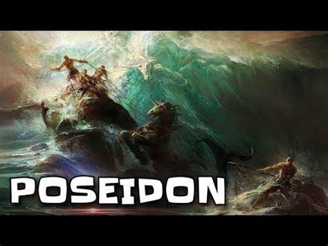 poseidon penguasa lautan mitologi yunani youtube