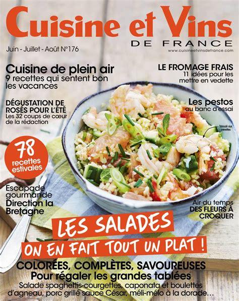 magazine cuisine et vins abonnement cuisine et vins de pas cher bouquet