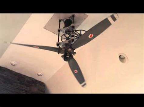 Airplane Prop Ceiling Fan by Dudes 8ft Diameter Airplane Propeller Ceiling Fan