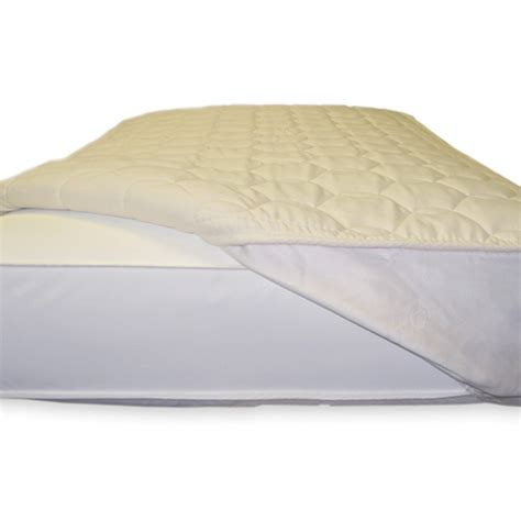 Naturepedic Mattress Pad by Naturepedic Non Waterproof Quilted Fitted Mattress Topper
