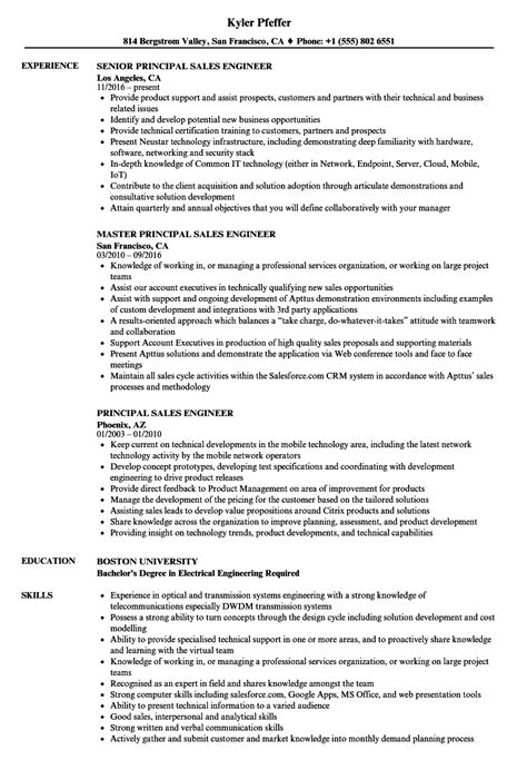 principal resume sles agile methodology on resume sle resume best resume