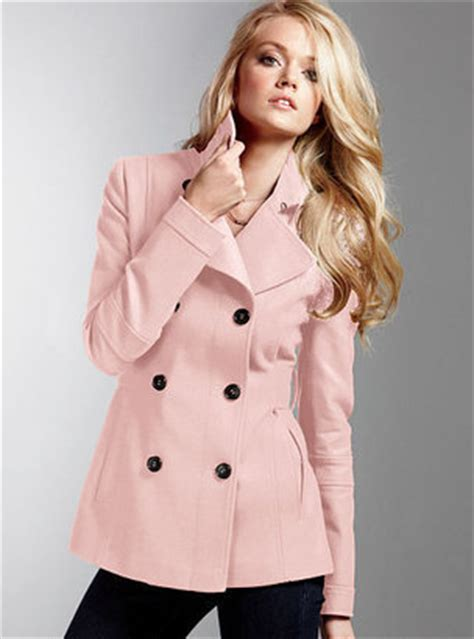 light pink pea coat the pink coats are coming