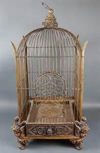 victorian style bird cage