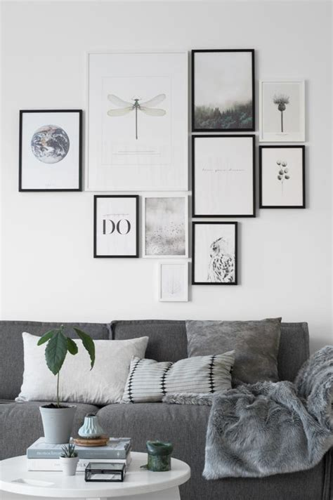 wall prints for living room 8 tips on how to make the perfect gallery wall daily