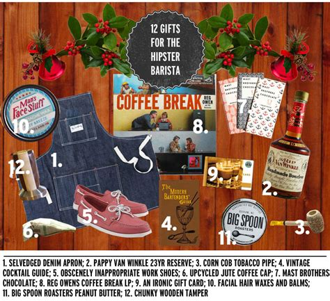 12 gifts for the hipster barista ultimate holiday gift guide