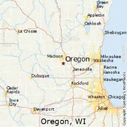 oregon wisconsin map best places to live in oregon wisconsin