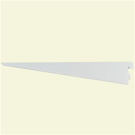 rubbermaid 11 1 2 in white track shelf bracket