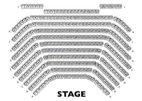 Theatre Seating Plan Template