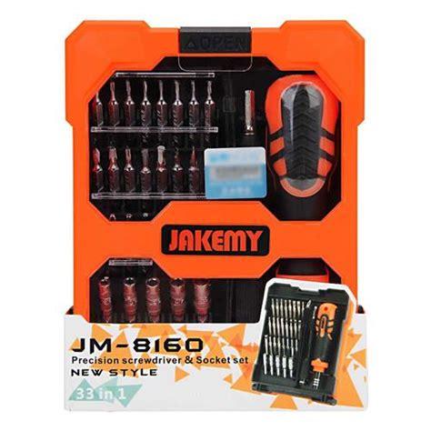 Jakemy 33 In 1 Obeng Set Jm 8160 jakemy jm 8160 33in1 screwdriver set