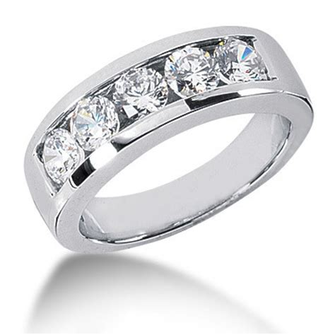 30 plain mens platinum wedding rings with diamonds
