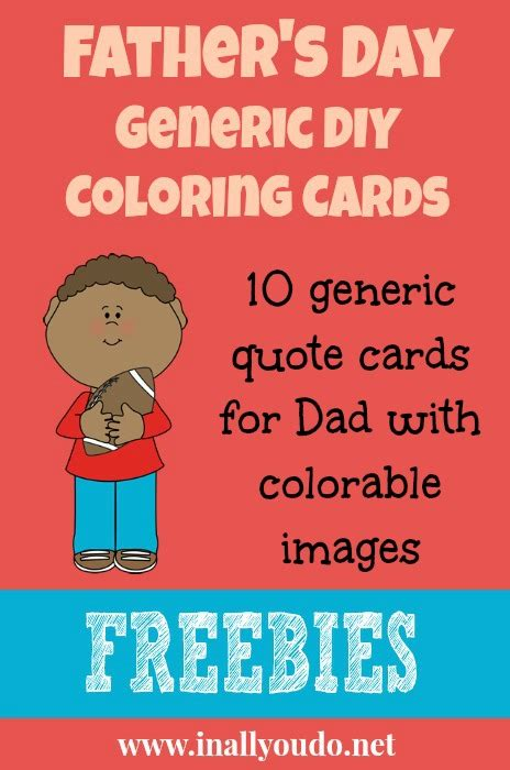 make your own fathers day card printables s day make your own coloring cards