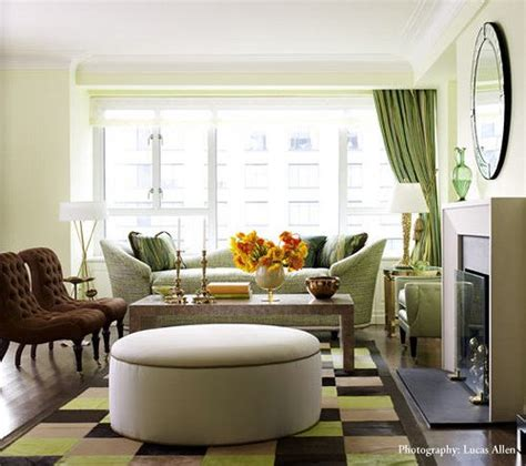 Green And Brown Living Rooms by Green And Brown Living Room Living Room