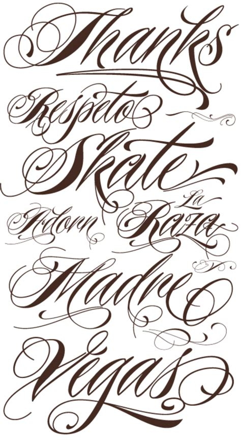 cool fonts for tattoos cool cursive fancy cursive fonts alphabet for