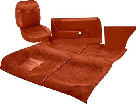 classic car upholstery kits 1969 pontiac firebird parts interior soft goods