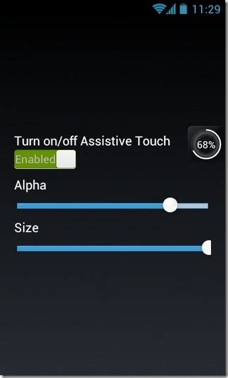 android layout opacity easy touch ios assistivetouch inspired android