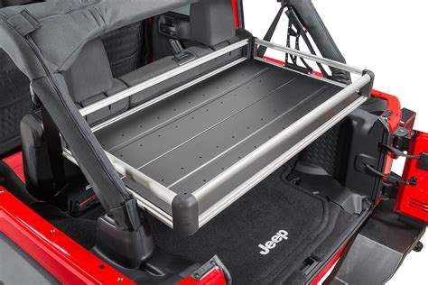 Cargo Rack For Jeep by Teraflex Rear Utility Cargo Rack For 07 17 Jeep 174 Wrangler