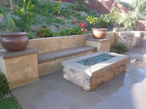 chiminea seating area 25 best rectangular pit ideas on cinder