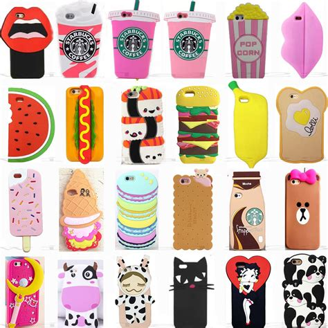 Japan Doll Softcase For Iphone 55s 1 3d fashion cool silicone phone covers