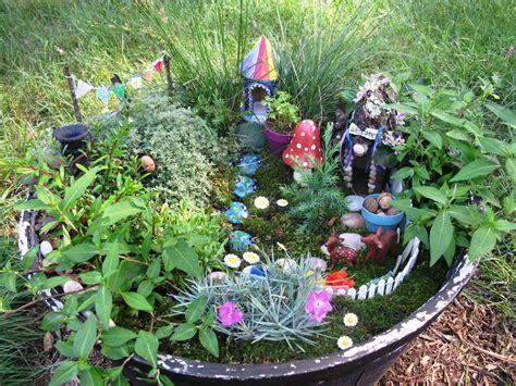 fiona s fairy garden so far wee fairy folk gardens