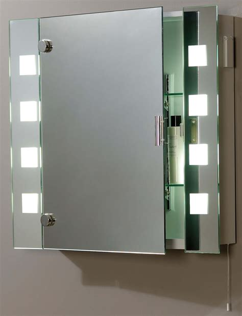 bathroom mirror cabinet light led bathroom mirrors with demister and shaver socket