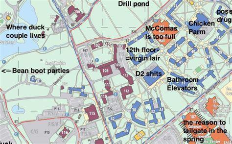 virginia tech interactive map 21 original map of virginia tech bnhspine