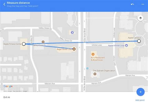 distance maps maps app update brings measure distance feature