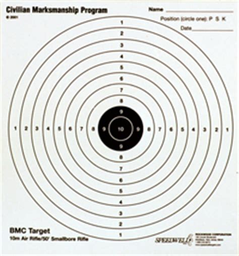 printable marksman targets cmp club target program