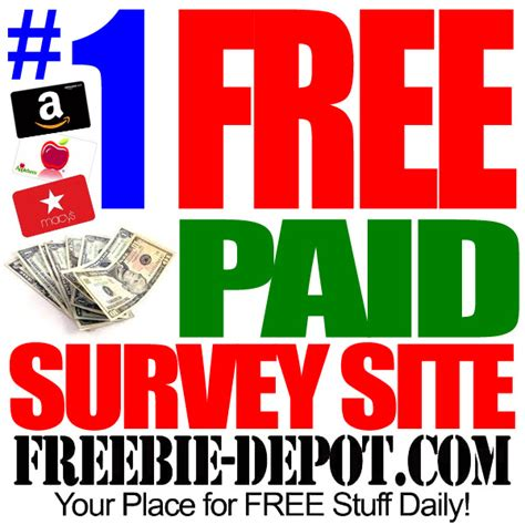 Free Paid Surveys - top free online survey site earn free cash and gift cards