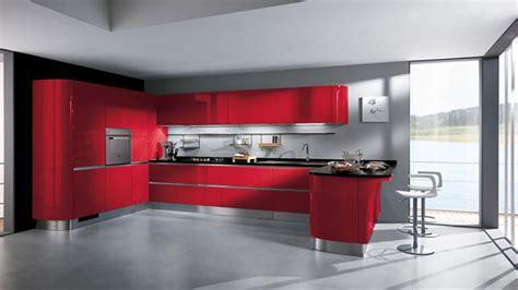 cucina e rossa 30 modelli di cucine rosse dal design moderno mondodesign it