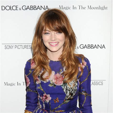 emma stone we re gonna bang 15 celebrity hairstyles for fall 2014 pretty designs