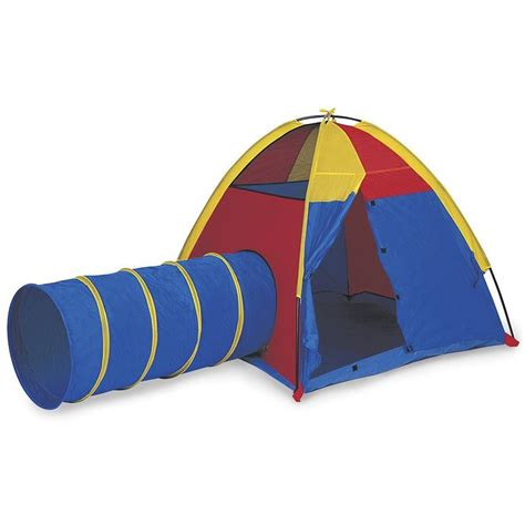 play tents for pacific play tents hide me dome tent and crawl tunnel combo for indoor