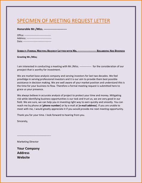 Official Letter Of Request 5 Formal Letter Of Request Sle Financial Statement Form