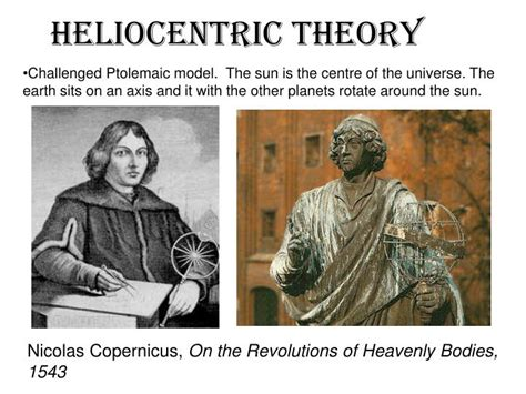 the heliocentric theory challenged the ppt chapter 6 powerpoint presentation id 2741441