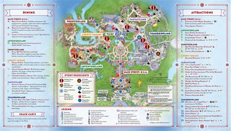 photos 2017 mickey s very merry christmas party map
