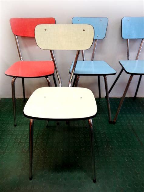 chaises formica chaises en formica vintage multicolor brocnshop