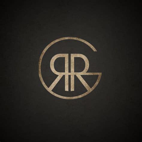 design a monogram logo new logo based on my initials rrg www robgad com logos