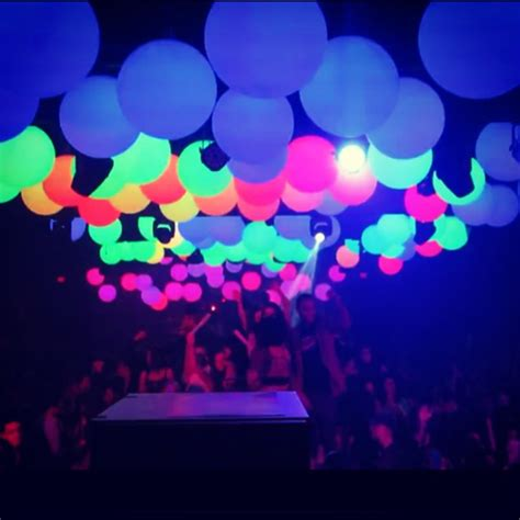 club themed decorations disco decorations neon glow balloons