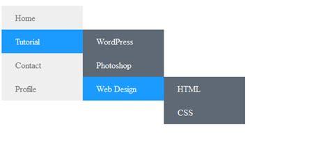 cara membuat header html dengan css cara membuat menu vertical dengan css belajar dan