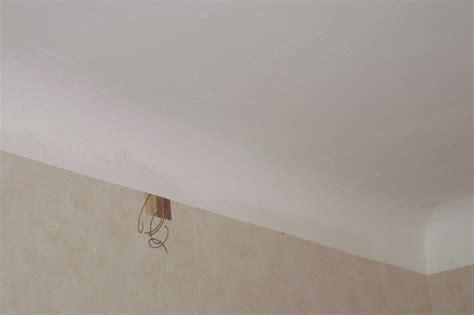 Comment Faire Enduit Plafond by Pose De Faux Plafond En Plaque Platre Sur Plafond Avec Arrondi