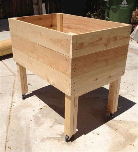 Living Green Planters by Living Green Planters Portable Elevated Planter Box