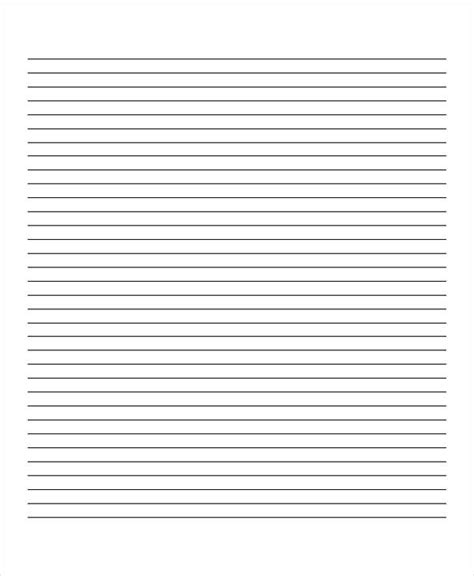 22 lined paper templates free premium templates