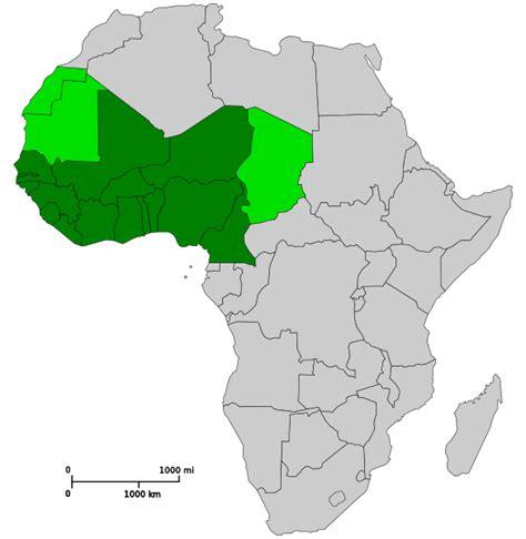 west africa map outline file west africa svg