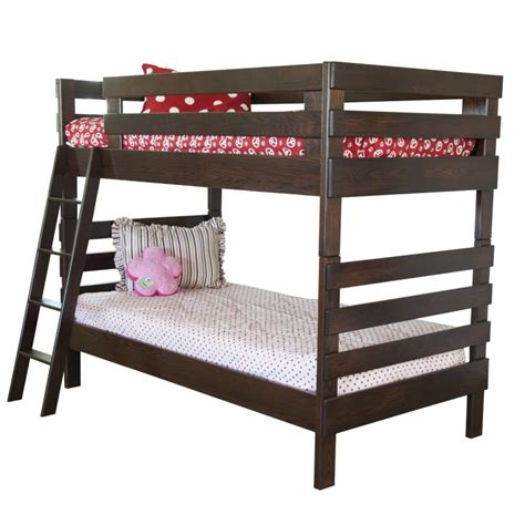 Country Bunk Beds Child S Bunk Bed Solid Wood Bunk Bed Amish Made Bunk Bed Amish Furniture Pa