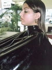 females in pvc getting haircuts pic 6d ferras johnny tags shiny shoo capes hairsalon
