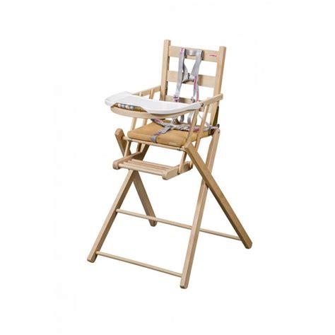 chaise haute bois combelle chaise haute bois pliante mzaol com