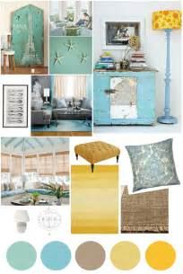 Teal And Yellow Bedroom » New Home Design