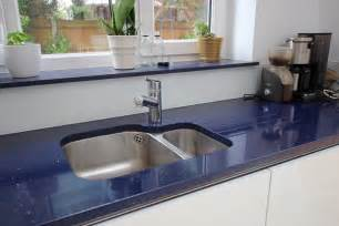 L Shaped Kitchen With Island White With Blackberry Glass Kitchen