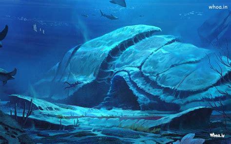 natural fishes  bottom   sea