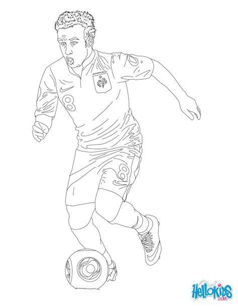 U Of M Coloring Pages by Matthieu Valbuena Coloring Pages Hellokids