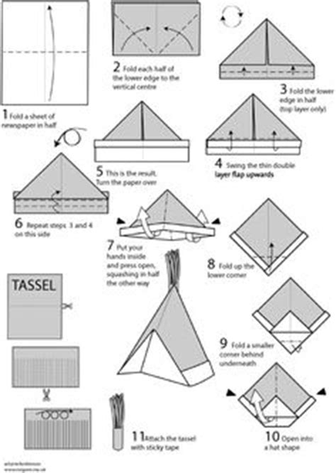 How To Make Hats Out Of Paper - 1000 images about paper folded on paper